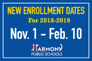 New Enrollment 2018-2019